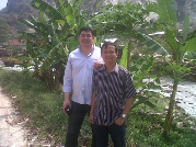 With Mr Stephen from UK