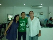 With Mr Pat from Thailand