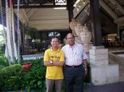 With Mr Venkatraman from Dubai UAE